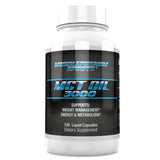 KETO BHB 3000 60CT + MCT OIL 3000 120 CT - MusclePhenom Sports