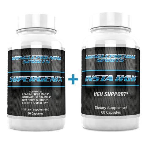 SUPERGENIX + INSTA HGH - MusclePhenom Sports