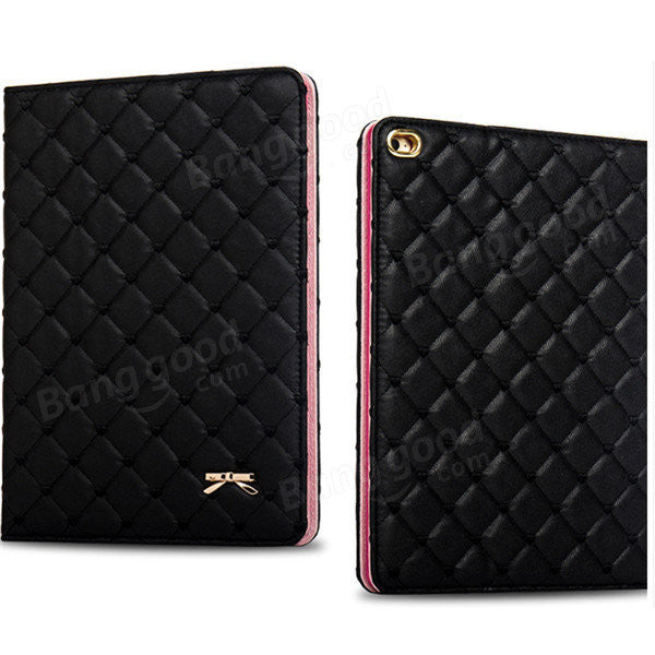 iPad 2 3 4 Luxury Fashion Bowknot Leather Smart Case Stand Cover Holder