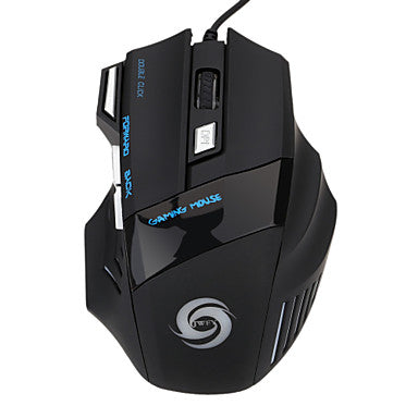 Gaming mouse 5500 DPI 7 Buttons LED Optical USB Wired Gaming Mouse Mice For Pro Gamer