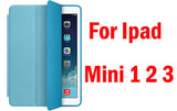 apple Slim Smart Case ipad 4 , ipad 3 , ipad 2 , Ultra Thin Leather Tablet Cover with Sleep and Wake