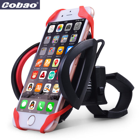 Handlebar bicycle phone holder, iPhone holder, motorbike iPhone holder