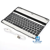 Slim Aluminum Bluetooth Wireless Key Board Stand Case Cover For iPad 2 3 4
