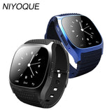 NIYOQUE 2017 Smart Watch M26 Woman Men Bluetooth Smartwatch Sync Phone Call Pedometer Anti-Lost For Android Smartphone