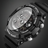 2017 Brand Men Sports Watches LED 30M Dive Swim Dress Fashion Digital Military Mens Watch Student Outdoor Wristwatches Man