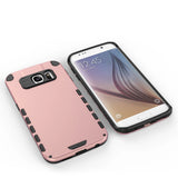 Samsung Galaxy S6 Edge Case Slim Hybrid Dual Layer Shockproof TPU with Screen Protector+Stylus Pen