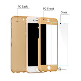 iPhone 6 Case + Tempered Glass