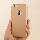 Ultra thin Full Protection Case For iPhone 6 6s Plus Show Logo case For iPhone 6S Plus,Apple iPhone 6 case- Apple iphone 6s Plus case