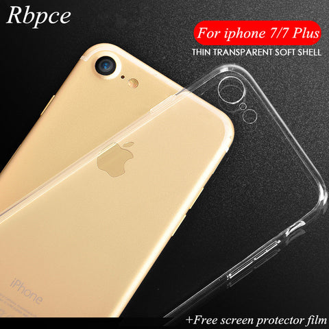 apple Iphone 7 TPU silicone transparent soft
