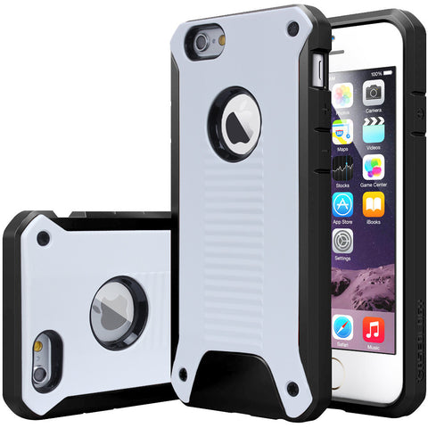 iphone 6 case Shockproof Rugged Heavy Duty Armor Plate for iPhone 6 6S 6Plus 6S Plus Plastic