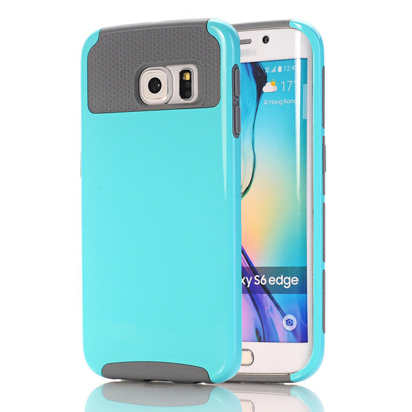 Samsung Galaxy S6 Edge Case Hybrid Heavy Duty
