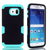 Samsung Galaxy S6 Phone Cases Impact Hybrid Rubber Silicone w/Screen Protective Film+Stylus Pen