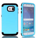 Samsung Galaxy S6 Case,Impact Hard & Hybrid Armor Phone Cases w/Screen Protector Film+Stylus