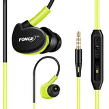 Sport Headphones Waterproof  Earphones Running Sweat proof Stereo Headset With Mic for iphone