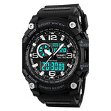 Men's Sport Watch Military Watch Wrist watch Japanese Digital LED Calendar Chronograph Water Resistant / Water Proof Three Time