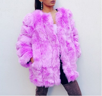 Talia Faux Fur Jacket