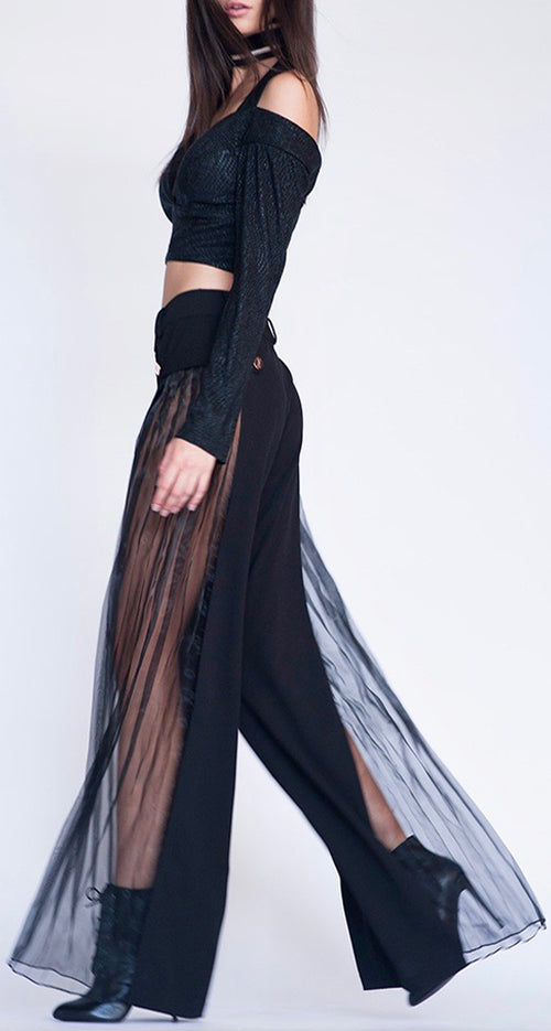 Designer Black Trouser, Celebrity Styled Trouser, Trending Now, DUALIPA, KENDALL JENNER, DUA LIPA, gigi hadid, bella hadid, Sexy Trouser, Famous Style
