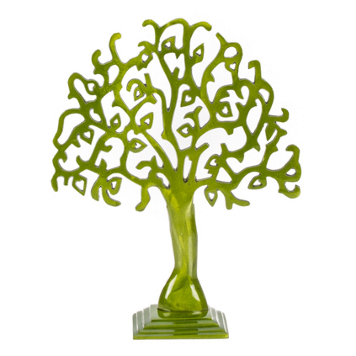 Casa Uno Aluminium Heart Branch Jewellery Tree, Small, 36cm