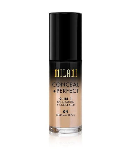 Milani Conceal + Perfect 2in1 Foundation + Concealer - Medium Beige
