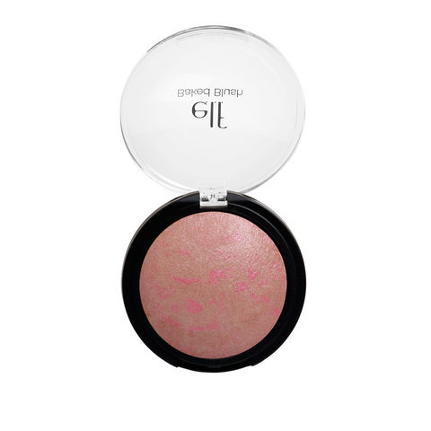 e.l.f. Baked Blush Passion Pink soft and shimmering color