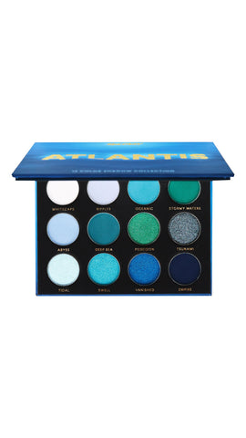 Atlantis Eyeshadow Palette by Face Candy