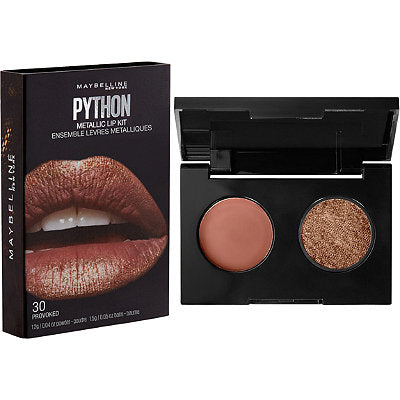 Maybelline Lip Studio Python Metallic Lip Kit - 30 Provoked