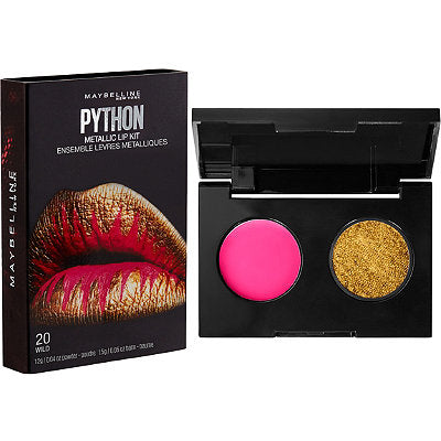Maybelline Lip Studio Python Metallic Lip Kit - 20 Wild