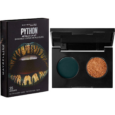 Maybelline Lip Studio Python Metallic Lip Kit - 35 Snakebite