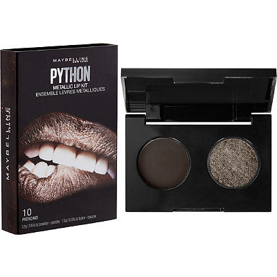 Maybelline Lip Studio Python Metallic Lip Kit - 10 Piercing