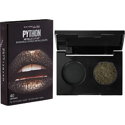 Maybelline Lip Studio Python Metallic Lip Kit - 40 Untamed