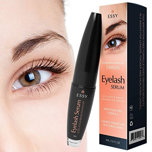 29d789dfa57 Essy Eyelash Growth Serum for Lash and Brow Irritation Free Formula (3ML)