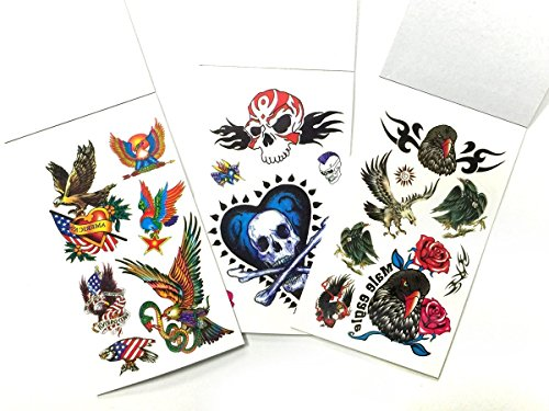 Henna Tattoo In Johannesburg: 6 Packs Mini Temporary Tattoo