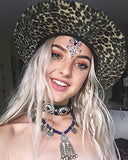 6 Sets Women Mermaid Face Gems Glitter,Rhinestone Rave Festival Face Jewels ,Crystals Face Stickers,...