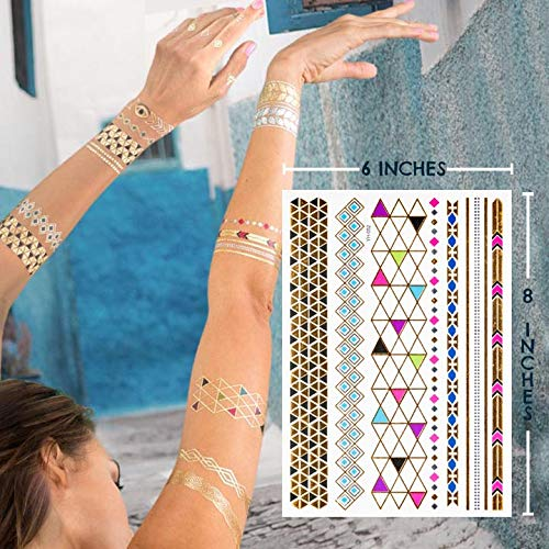 Henna Tattoo In Johannesburg: Metallic Henna Tattoo Kit, 6