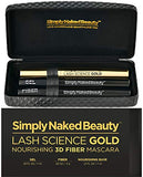 3D Fiber Lash Mascara with Eyelash Enhancing Serum by Simply Naked Beauty. Infused with...