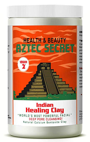 Aztec Secret - Indian Healing Clay Deep Pore Cleansing Facial & Body Mask 2 Pound