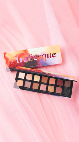 Arabesque Eyeshadow Palette by Bad Habit