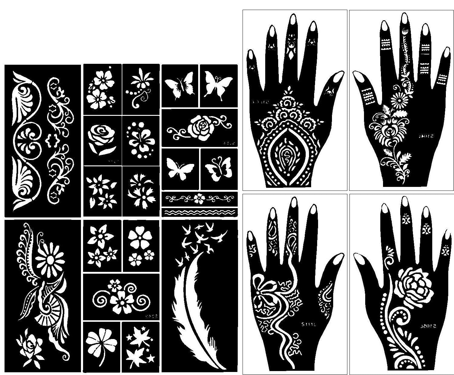Henna Tattoo In Johannesburg: Stencils For Henna Tattoos (10