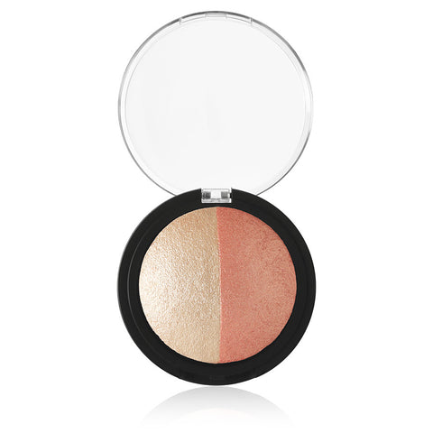 e.l.f Baked Highlighter & Blush - Rose Gold
