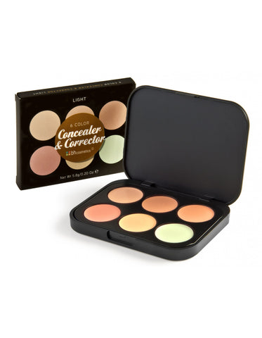 BH Cosmetics Concealer Corrector Palette Light