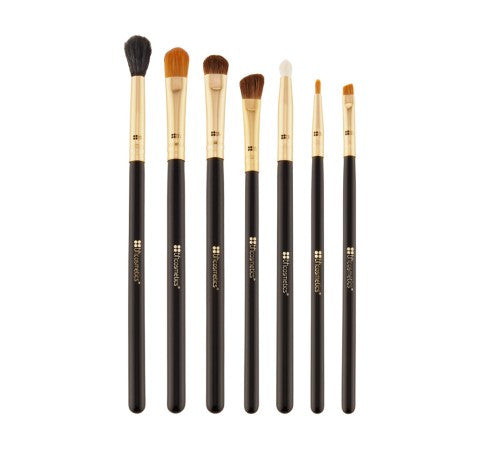 BH Cosmetics Eye Essential 7 Piece Brush Set