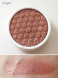 Sequin Eye Shadow Colourpop A copper penny like shade with silver and gold glitter