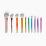 BH Cosmetics Take Me Back to Brazil Brushes - 10 Piece Brush Set