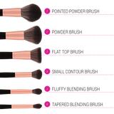 BH Cosmetics Signature Rose Gold - 13 Piece Brush Set