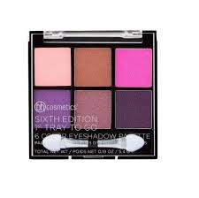 BH Cosmetics Sixth Edition 1st Tray To Go - 6 Color Eyeshadow Palette