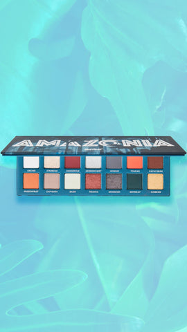 Amazonia Eyeshadow Palette by Face Candy