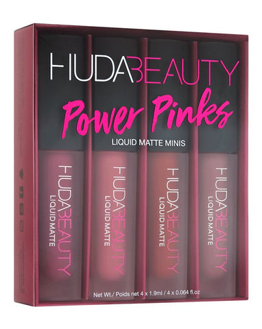 Huda Beauty Liquid Matte Minis - The Power Pinks Edition