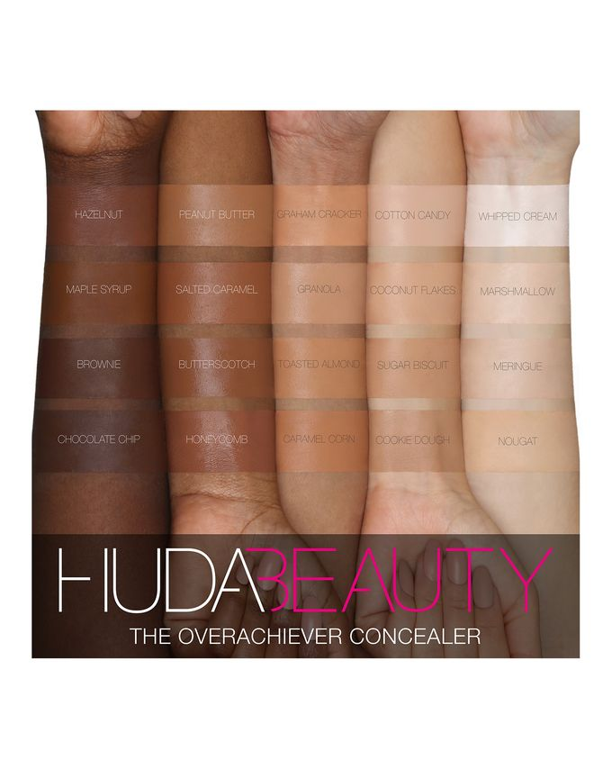 The Overachiever Concealer by Huda Beauty #11