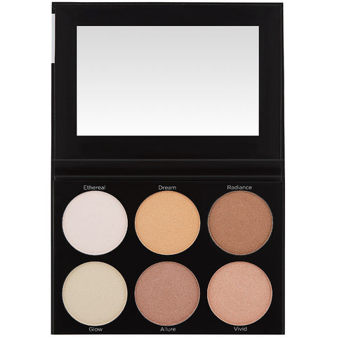 BH Cosmetics Spotlight Highlight - 6 Color   Palette