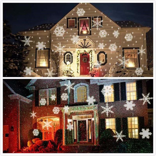 Christmas LED Waterproof Projector - 12 Patterns included